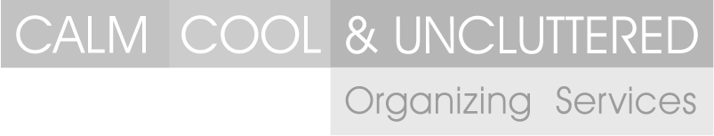 CALM, COOL & UNCLUTTERED Organizing Services